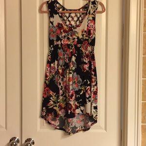 Material girl midi  floral dress